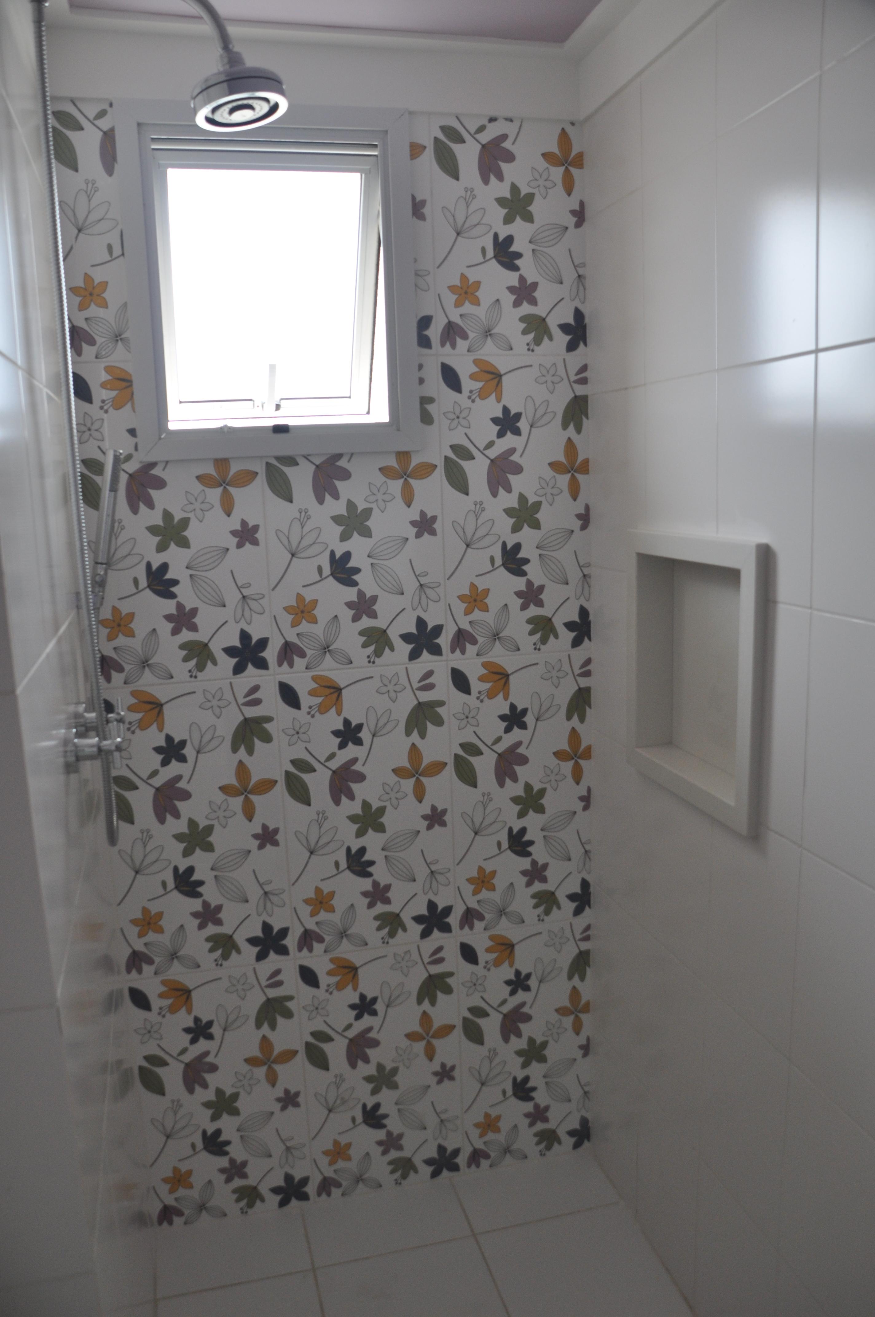 Pisos De Azulejos  Car Interior Design -> Nicho Para Shampoo Banheiro